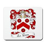 Le Guan Family Crest Mousepad
