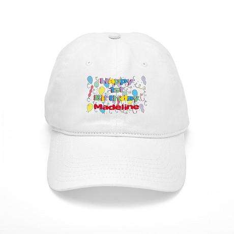 Madeline's 1st Birthday Cap