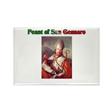 Feast of San Gennaro Rectangle Magnet