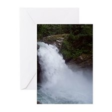Thundering Old Sauk Falls Greeting Cards (Pk of 20