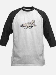 WestHighland White Terrier Da Kids Baseball Jersey