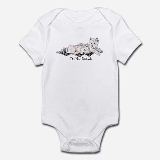 WestHighland White Terrier Da Infant Bodysuit