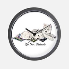 WestHighland White Terrier Da Wall Clock