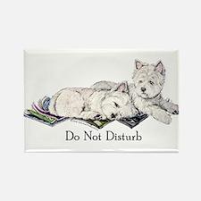 WestHighland White Terrier Da Rectangle Magnet