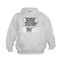 The PoopScout Motto - Hoodie