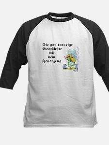 Paulinchen und das Feuerzeug Kids Baseball Jersey