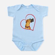 NRC Heartline Infant Bodysuit
