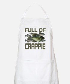 Full of Crappie BBQ Apron