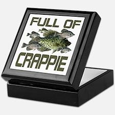 Full of Crappie Keepsake Box