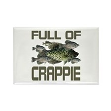 Full of Crappie Rectangle Magnet
