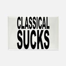 Classical Sucks Rectangle Magnet