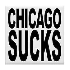 Chicago Sucks Tile Coaster