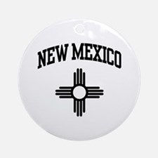 New Mexico Ornament (Round)