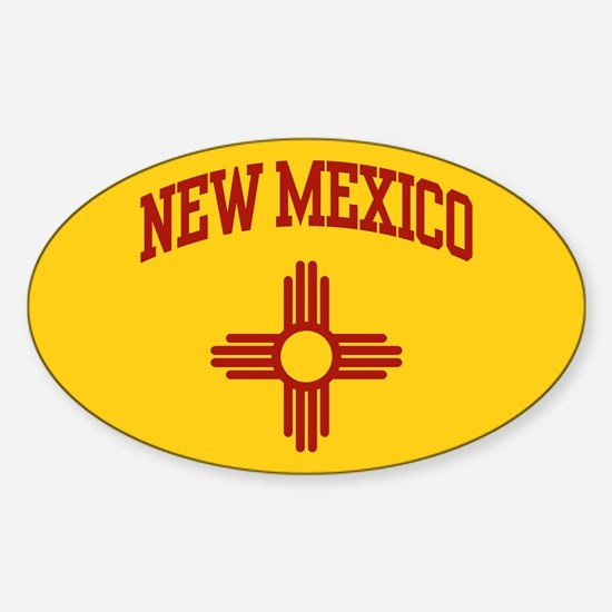 New Mexico Oval Bumper Stickers