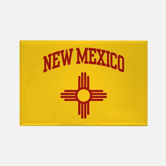 New Mexico Rectangle Magnet