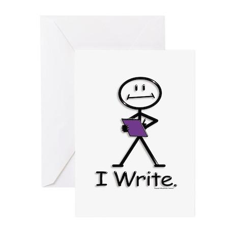 BusyBodies Writer Greeting Cards (Pk of 10)