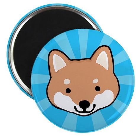 Shiba Inu Face Magnet