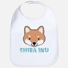 Shiba Inu Face Bib
