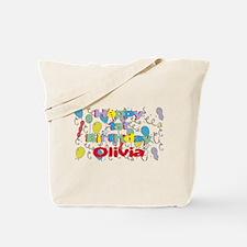 Olivia's 1st Birthday Tote Bag