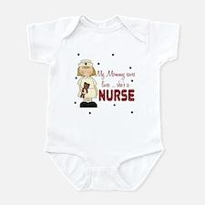 Mommy saves lives NURSE Baby Infant Bodysuit