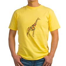 Multicolored Giraffe T