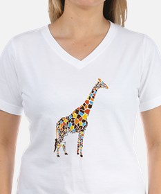 Multicolored Giraffe Shirt
