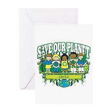 Earth Kids Ohio Greeting Card