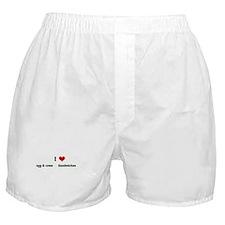 I Love egg & cress Sandw Boxer Shorts