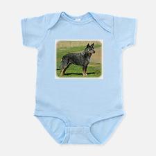 Australian Cattle Dog 9F060D-06 Infant Bodysuit