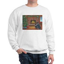 Santa Watch Border Collies Sweatshirt