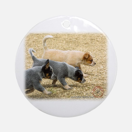 Australian Cattle Dog 8T57D-18 Ornament (Round)