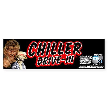 Chiller Drive-In Bumper Sticker