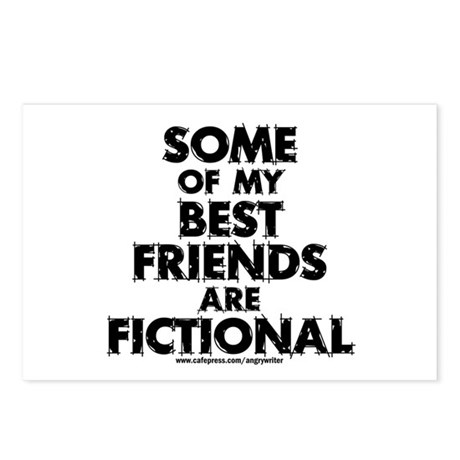 Fictional Friends Postcards (Package of 8)