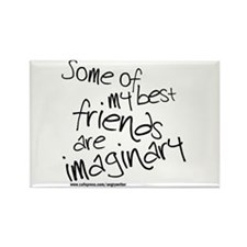 Imaginary Friends Rectangle Magnet