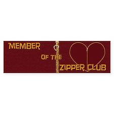 Zipper Club Bumper Bumper Sticker
