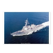 USS John S. McCain Postcards (Package of 8)
