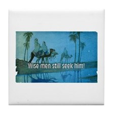 Seek Him Tile Coaster