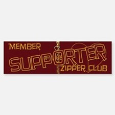 Supporter Bumper Bumper Bumper Sticker