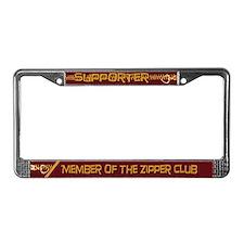 Supporter License Plate Frame