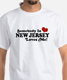 Somebody in New Jersey Loves Me Shirt