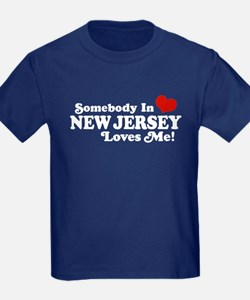 Somebody in New Jersey Loves Me T