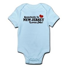 Somebody in New Jersey Loves Me Onesie