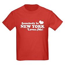 Somebody in New York Loves Me T