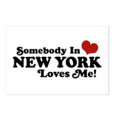 Somebody in New York Loves Me Postcards (Package o