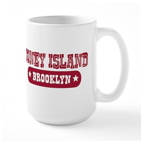 Coney Island Large Mug