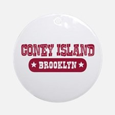 Coney Island Ornament (Round)