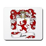 Leon Family Crest Mousepad