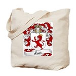 Leon Family Crest Tote Bag
