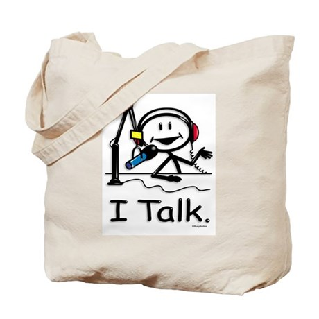 BusyBodies Radio Talk Show Host Tote Bag