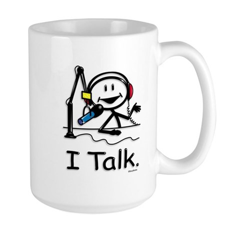 BusyBodies Radio Talk Show Host Large Mug